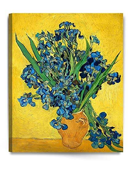 Amazon Scpmartsus Irises Vase Flower Vincent Van Gogh Art
