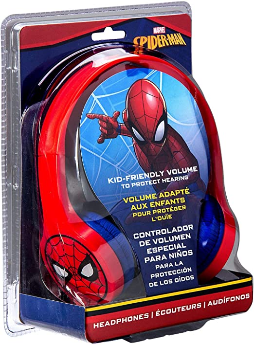Tech2go Sm V126 Spiderman Headphones Red Elektronik