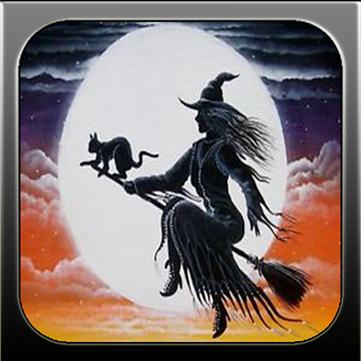 Halloween Haunted Witches in the Fantasy -