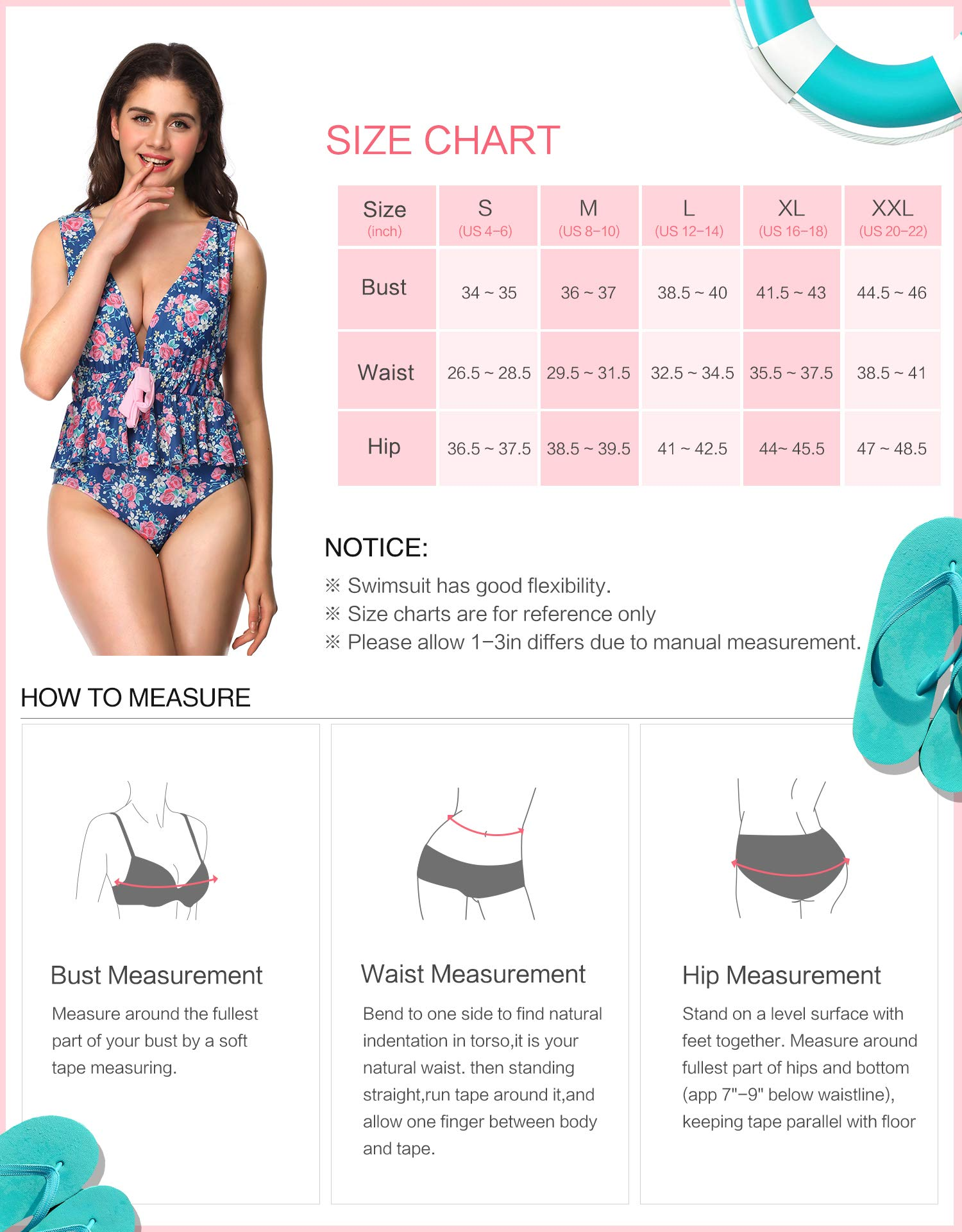 Verano Playa Women Deep Plunge High Waisted One Piece Swimsuit Ruffle Swimwear with Bow Tie Front Backless Bathing Suit
