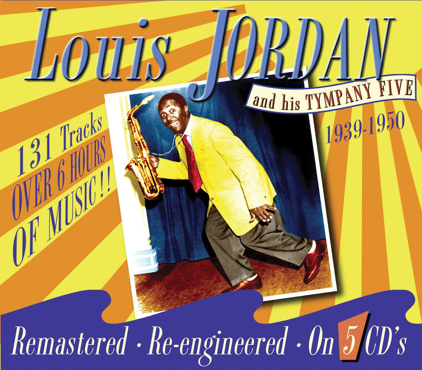 Louis Jordan & His Tympany Five by JSP