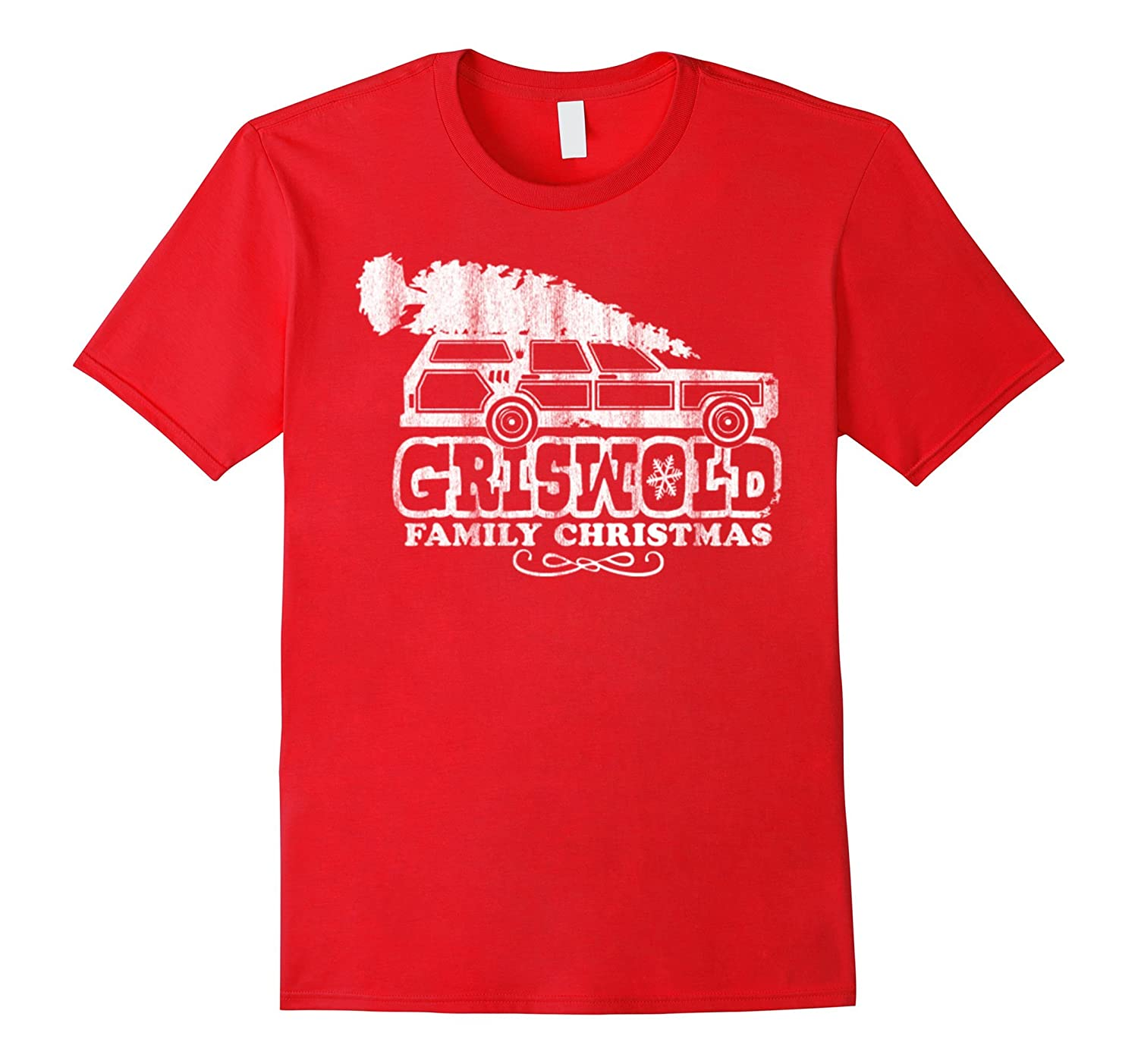 Griswold Christmas T-Shirt-Art