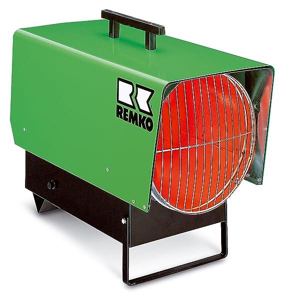 Remko PGT 60 - Calentador de gas (soplador de calefacción para propangos; máx. 55 KW; enchufe de 230 V; 100% efecto útil) 115400.: Amazon.es: Bricolaje y ...
