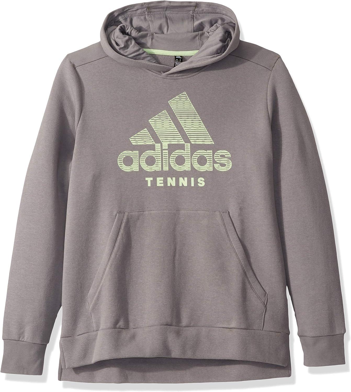Choose SZ//color Core Heather adidas Men/'s Tennis Club Knit Jacket