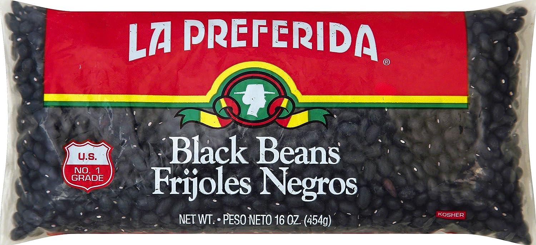 La Preferida Black Beans, Dry, 16 oz (Pack of 1)