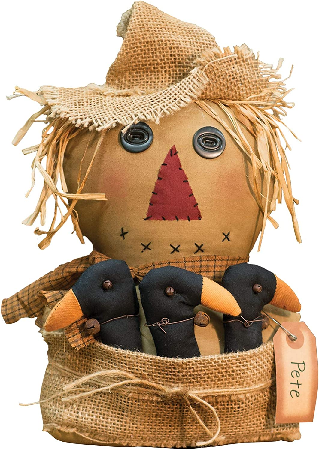 Multi CWI Gifts Pete Scarecrow Doll
