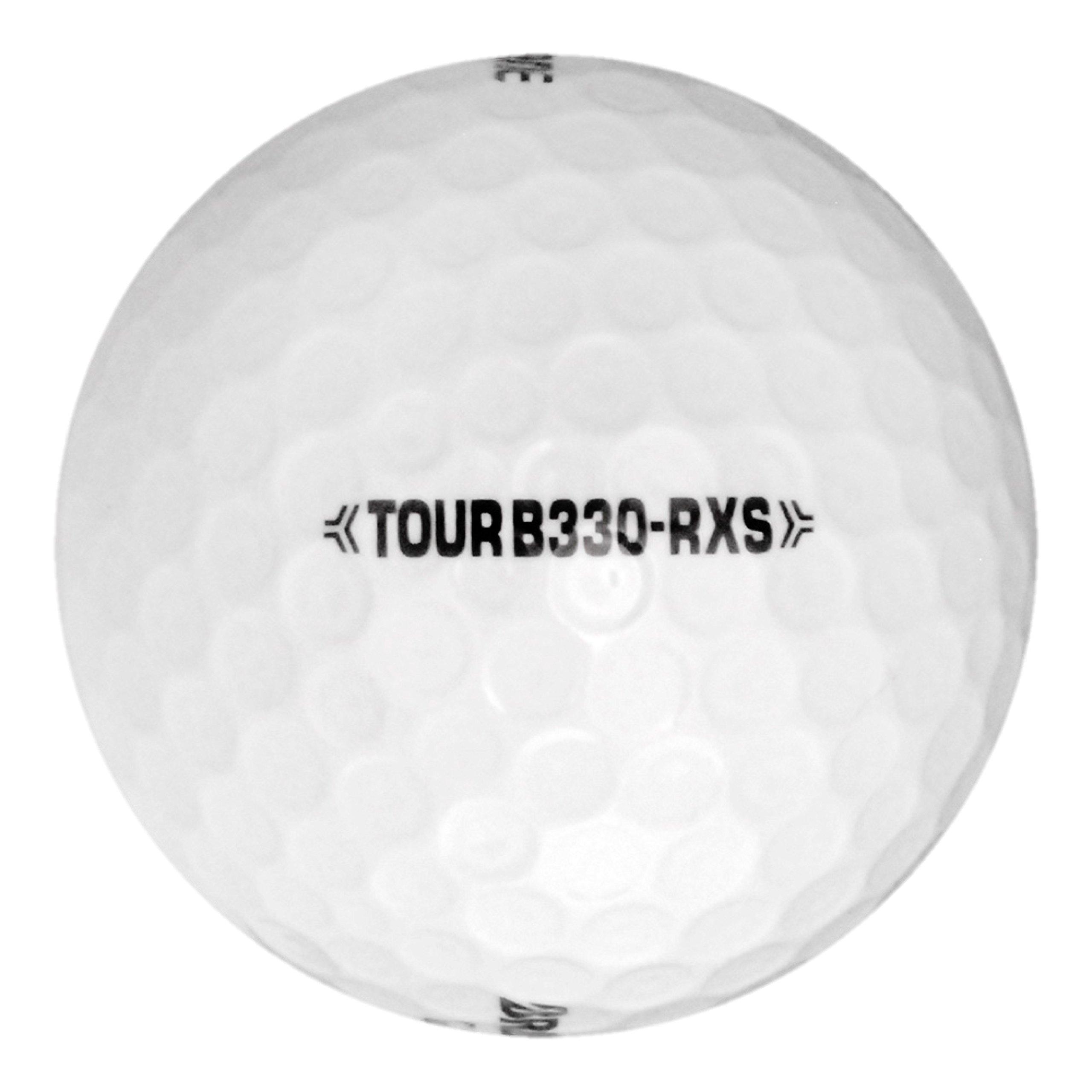 120 Bridgestone Tour B330-RXS - Near Mint (AAAA) Grade - Recycled (Used) Golf Balls