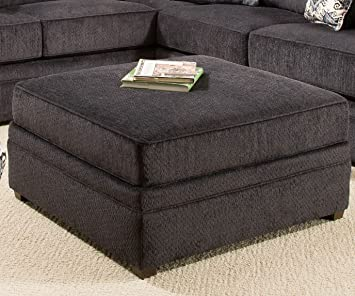 Pleasing Amazon Com Simmons Upholstery Bellamy Cocktail Ottoman Caraccident5 Cool Chair Designs And Ideas Caraccident5Info