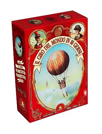 timeless design 68f85 ac2f8 Asmodee Italia-Il Giro del Mondo in 80 Giorni, 8895: Amazon ...