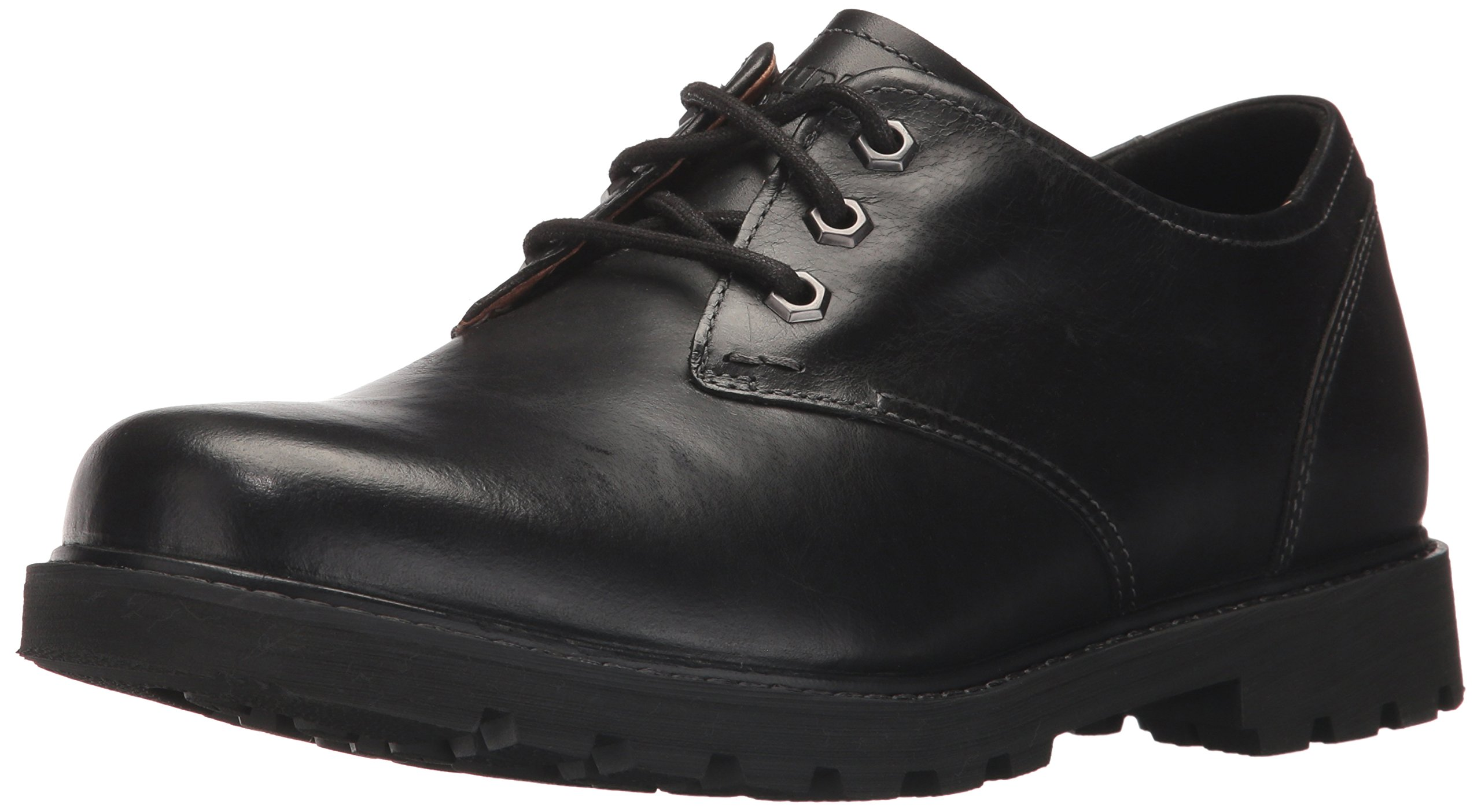 Dunham Men's Royalton Oxford, Black, 12 4E US