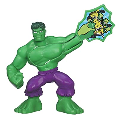 Playskool Heroes Marvel Super Hero Adventures Hulk Figure: Toys & Games