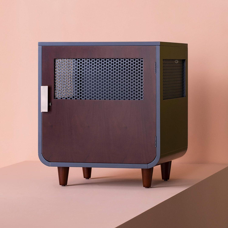 Staart - Radius Wooden Dog Crate - Mocha Walnut - Small