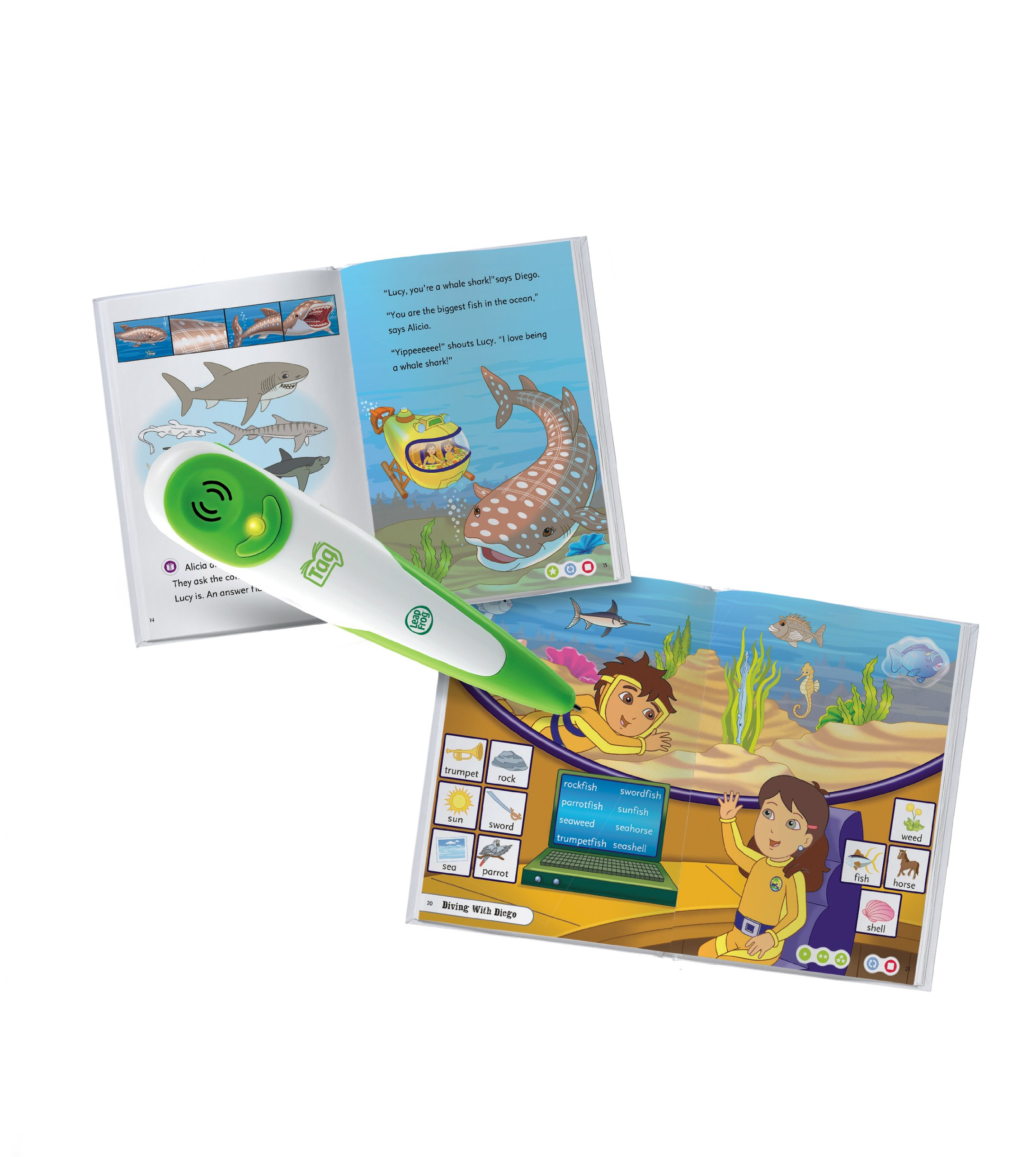 Leapfrog Tag Activity Storybook Go Diego Go!: Underwater Mystery by LeapFrog (Image #5)