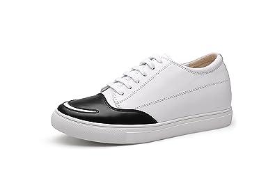 CHAMARIPA Aufzug Herren Schuhe Invisible Heel Schuhe Höhe
