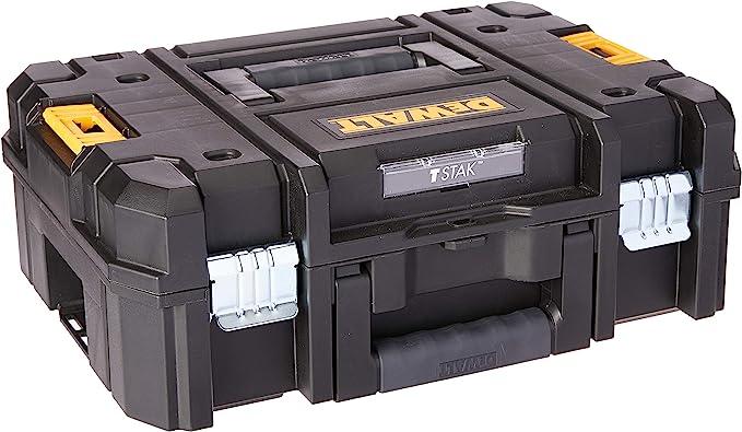 DEWALT Tool Box, TSTAK II, Flat Top (DWST17807) - - Amazon.com