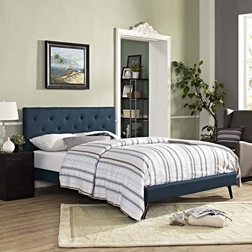 Modway Tarah Tufted Fabric Upholstered King Platform Bed