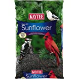 Kaytee Black Oil Sunflower Wild Bird Food, 10-Pound