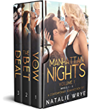 Manhattan Nights (Novels 1-3): A Contemporary Romance Box Set