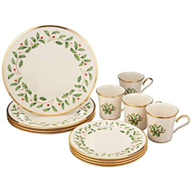 Lenox Holiday 12-Piece Dinnerware Set