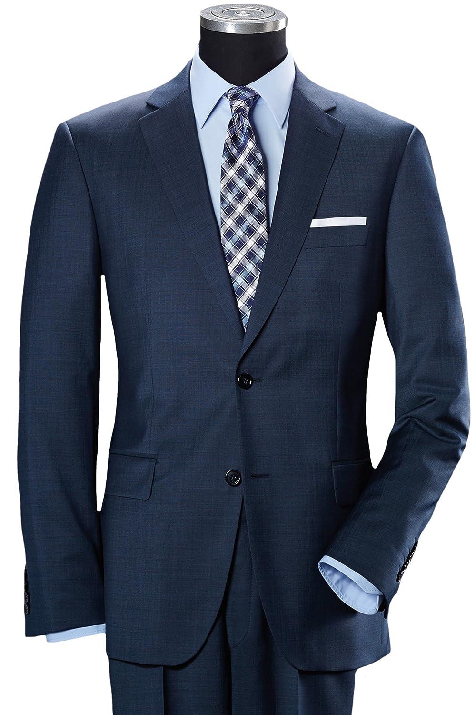Pierre Cardin Slim-Fit 2-Knopf-Anzug nachtblau 28