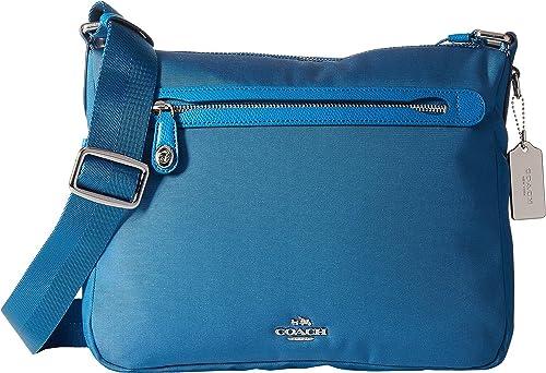 f88dd86bc5 COACH Women's Whls Excl Nylon Crossbody Sv/Peacock Cross Body: Handbags:  Amazon.com