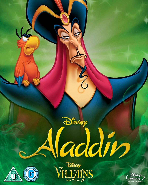 Amazon.com: Aladdin Special Disney Villains Cover [Blu-Ray]: Scott ...