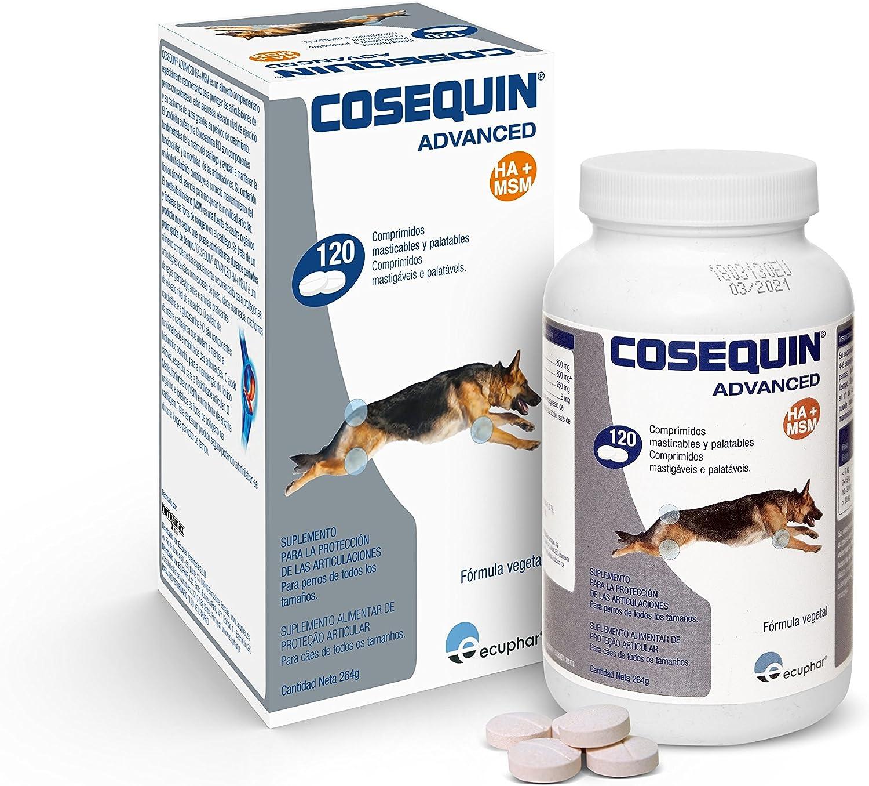 Cosequin SE506112 Cuidado Cadera y Articulaciones Canino DS Msm Ha 120CPD