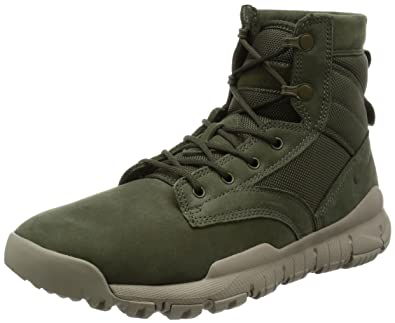 24b947fb9005 NIKE Mens SFB 6 quot  NSW Leather Cargo Khaki Leather ...