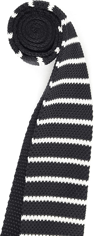 Hombres Corbata Estrecho de Punto Corbata Tricot con un Ancho de ...