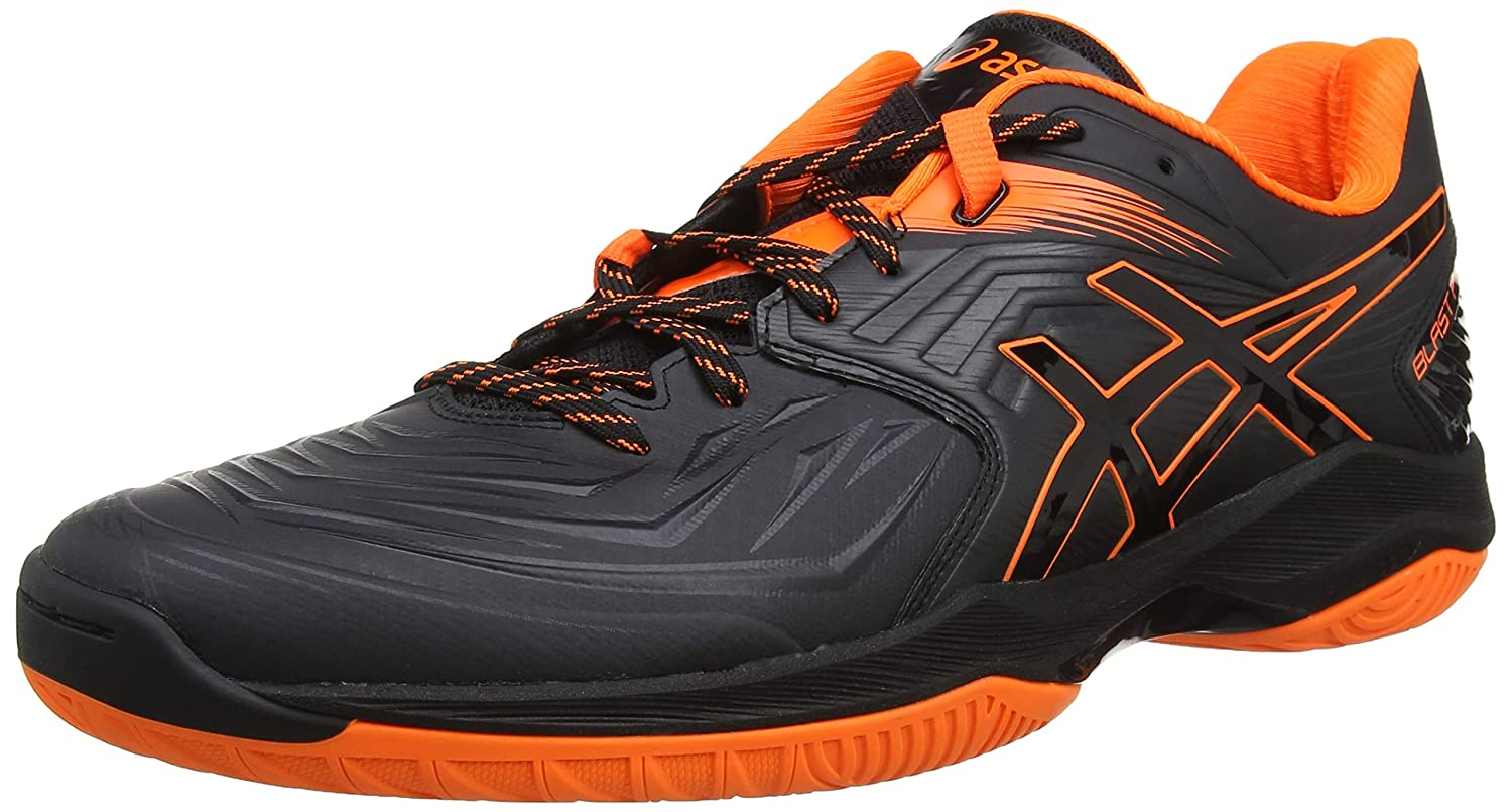 Noir (noir Shocking Orange 001) 47 EU ASICS Blast FF, Chaussures de Handball Homme