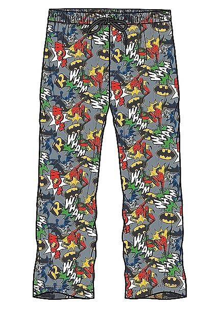 Marvel para Hombre diseño de Pijama Lounge Pantalones de pantalón Pantalones increíble Hulk Iron Man Thor