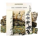 Juniper Ridge White Sage, Mugwort & Siskiyou Cedar Incense Bundle   Aromatherapy   No Synthetic Fragrance   Mini Variety   Pa
