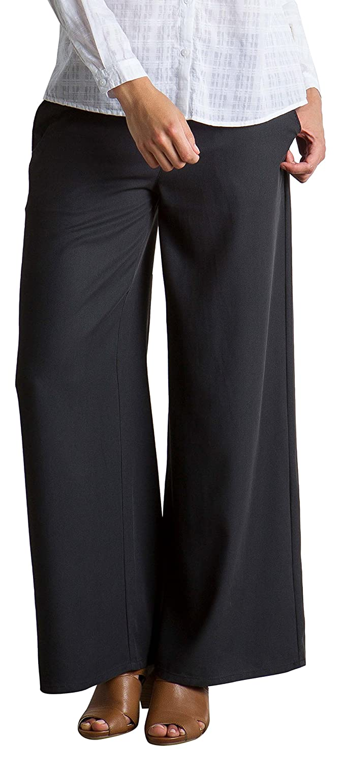 ExOfficio Womens Basilica Lightweight Wide-Leg Pants