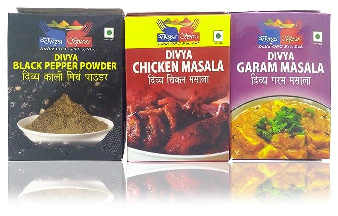 Divya Spices India OPC Pvt  Ltd  Black Pepper, Chicken
