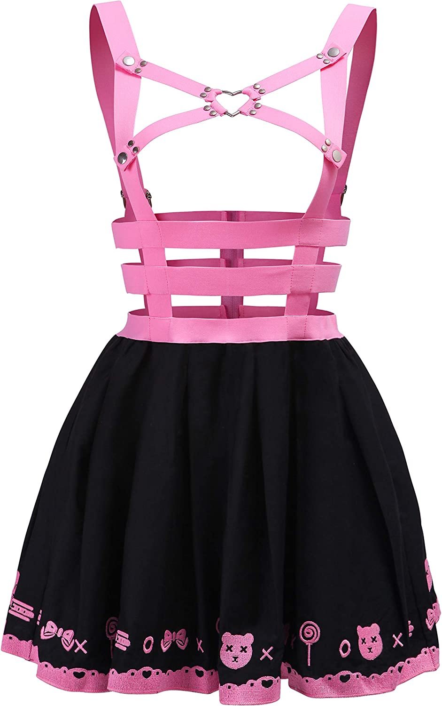 Littleforbig Overall Skirt Romper Confetti Princess Overall Skirt