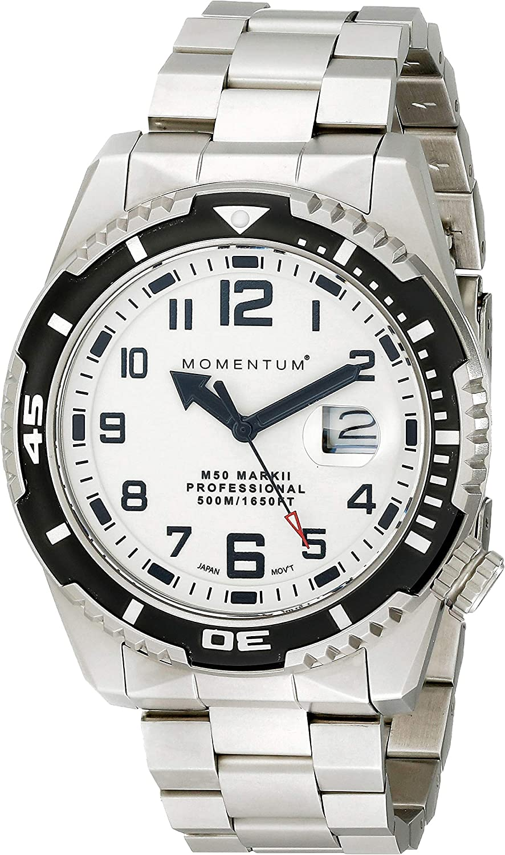 Momentum Men s M50 Wristwatch 500m 1650ft Water Resistant Sapphire Crystal Ultra Tough