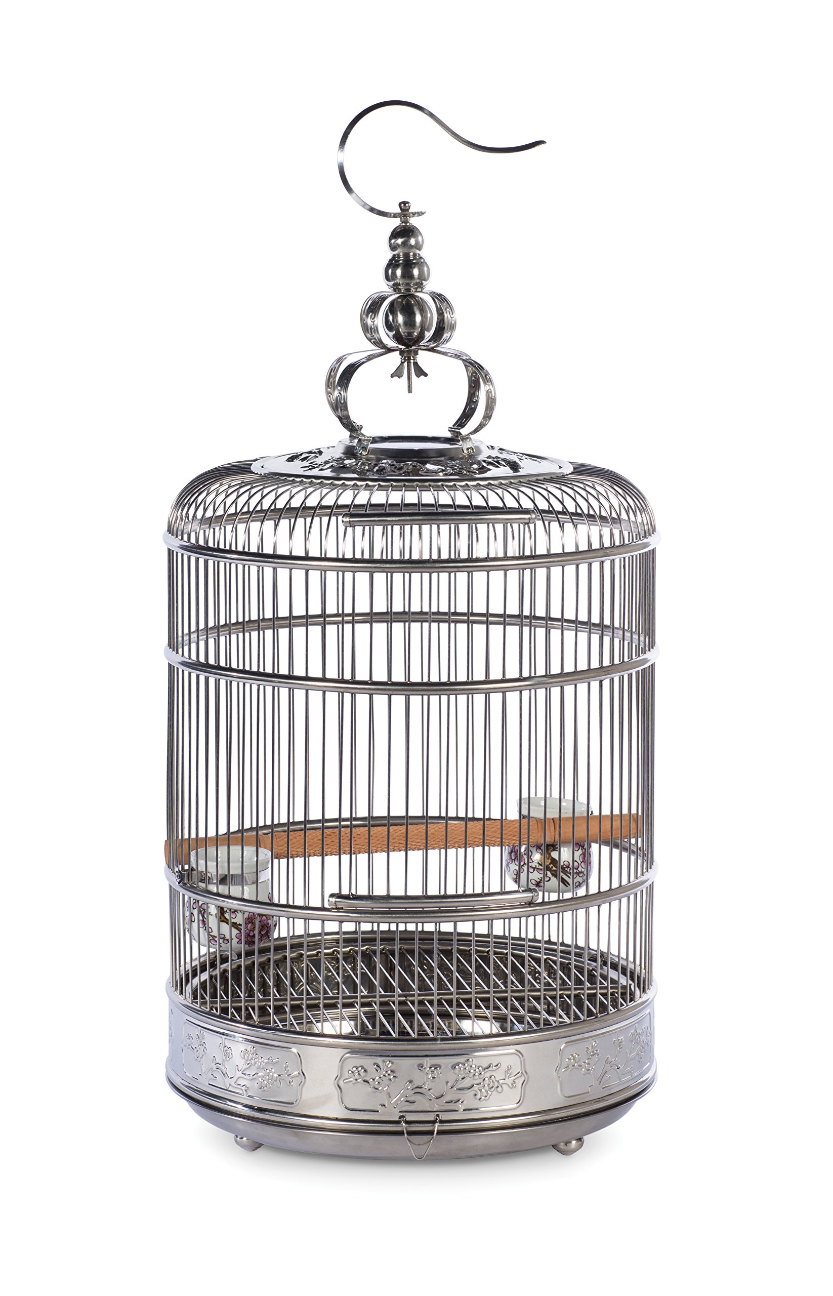 Prevue Pet Products Lotus Stainless Steel Bird Cage 150, Stainless Steel by Prevue Pet Products