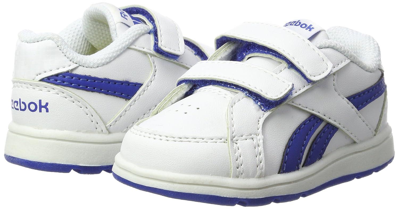 Reebok Bs7918, Zapatillas Unisex Bebé, Blanco (White/Vital Blue), 22.5 EU