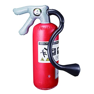WWE Big Bash Props - Airnormous Big Bash Fire Extinguisher: Toys & Games