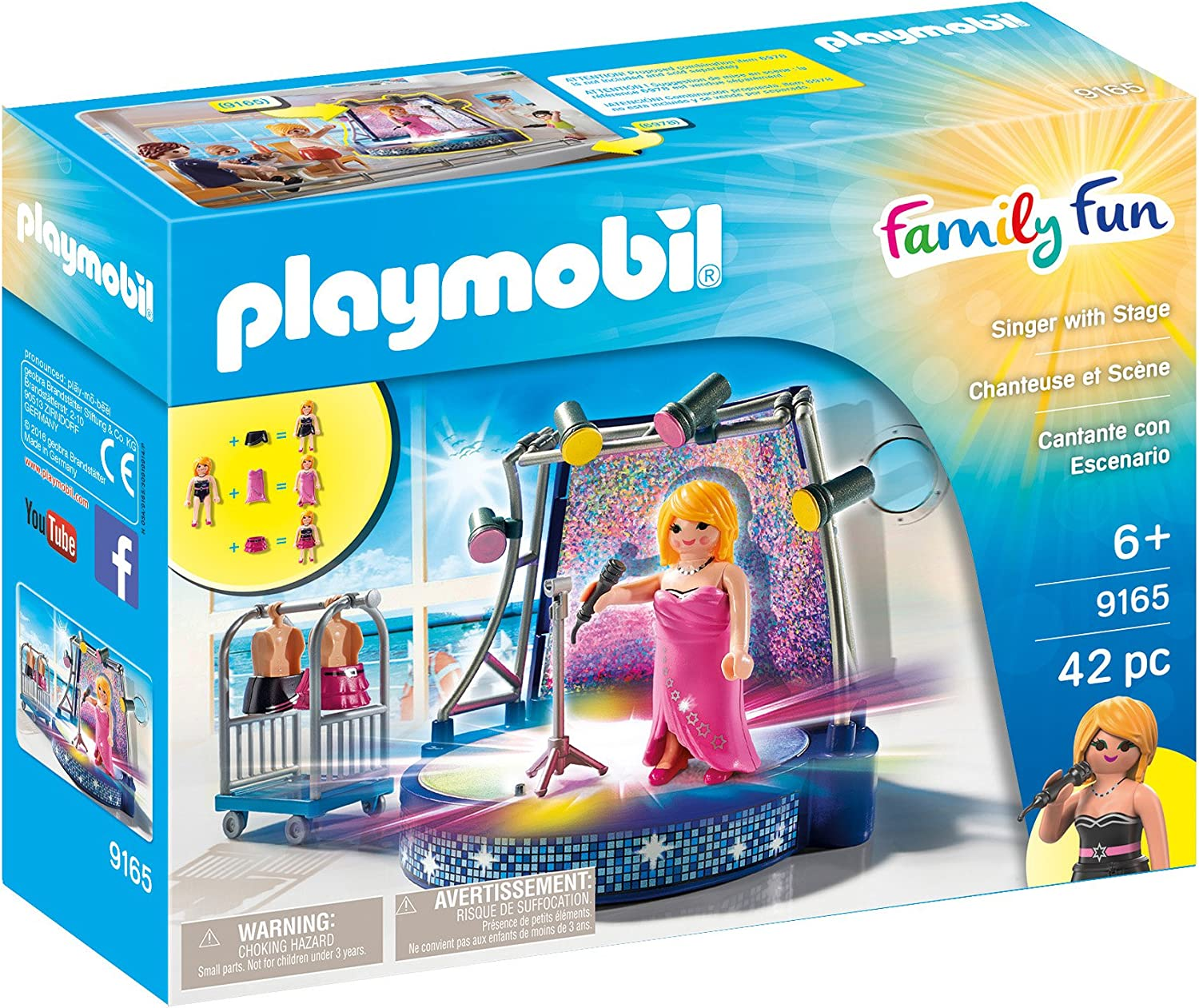 PLAYMOBIL Singer with Stage