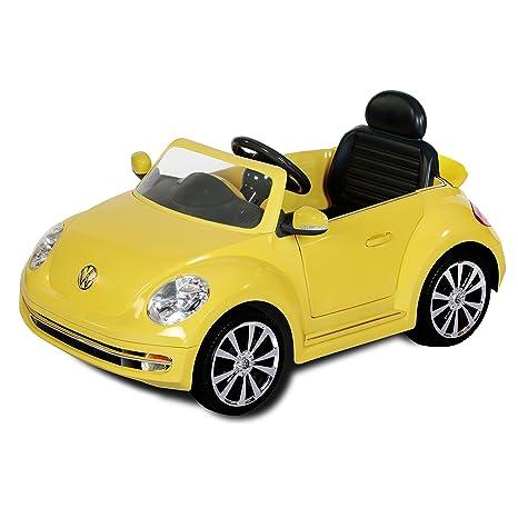 Imaginarium Beetle Yellow Coche Electrico Marca Volkswagen