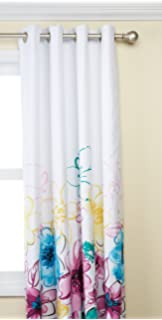 Intelligent Design Olivia Shower Curtain Blue 72x72 ID70-202