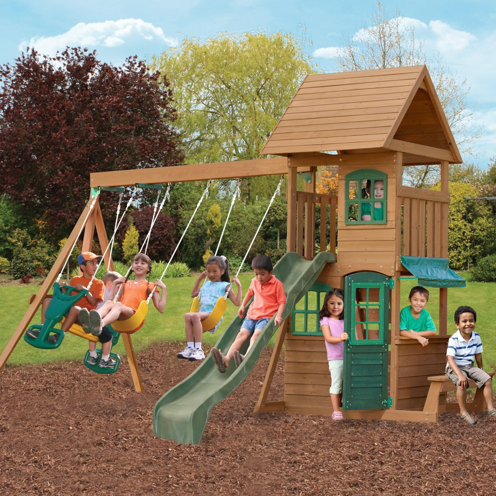 amazon com big backyard f23220 windale play center toys u0026 games