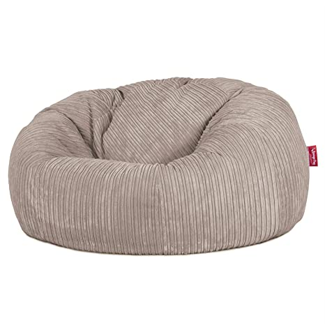 Lounge Pug®, Puff Gigante Sofá Clásica, Pana Clásica - Visón ...