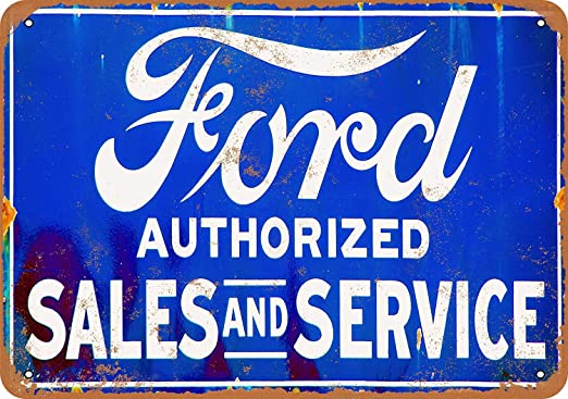 HALEY GAINES Ford Sales & Service Placa Cartel Póster de ...
