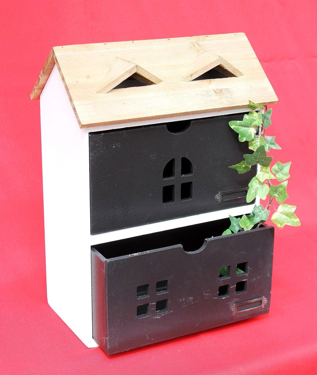 DanDiBo Mini dresser House Dresser 14B410 Chest of drawers with 2 drawers 38 cm Organizer Kitchen shelf