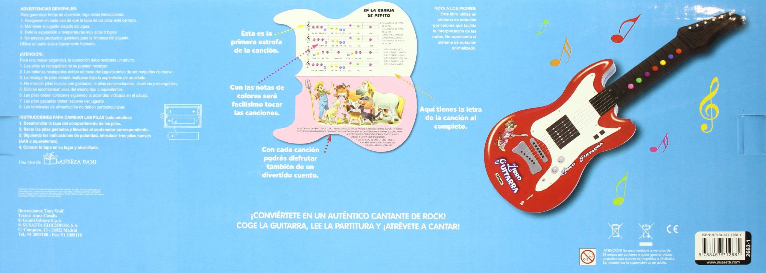 Amazon.com: Libro guitarra / Guitar book (Spanish Edition) (9788467712681): Books