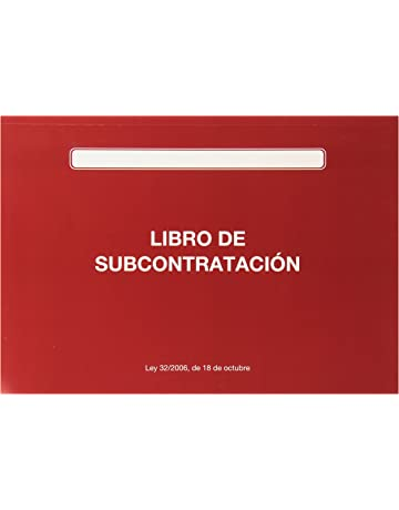 Marino 152809 - Libro de subcontratación, A4