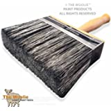 6 Inch SUPER-SIZE Multi-Purpose Painting and Faux Finish Painting Brush BLK by The Woolie