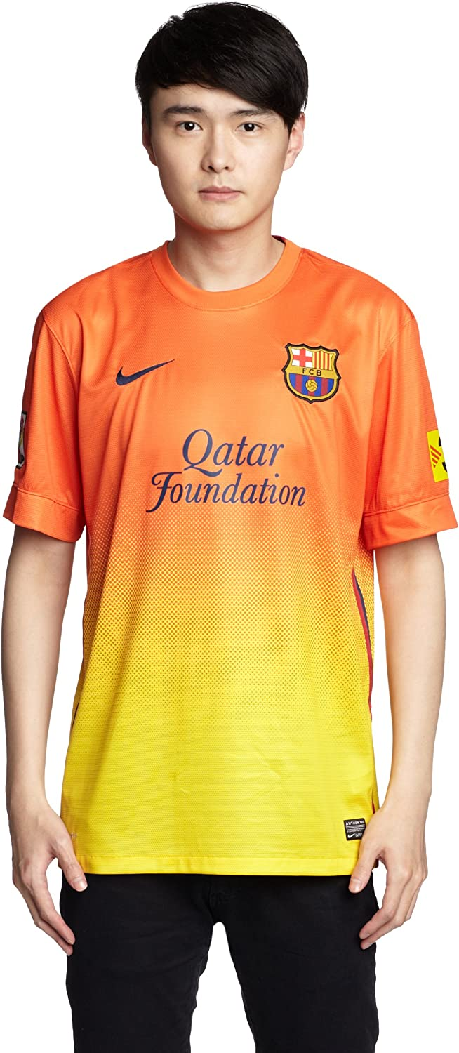 Amazon Com Nike Barcelona Away Jersey 2012 Clothing
